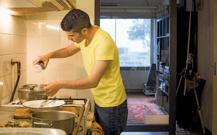 Takecarebnb: samenwonen met een vluchteling